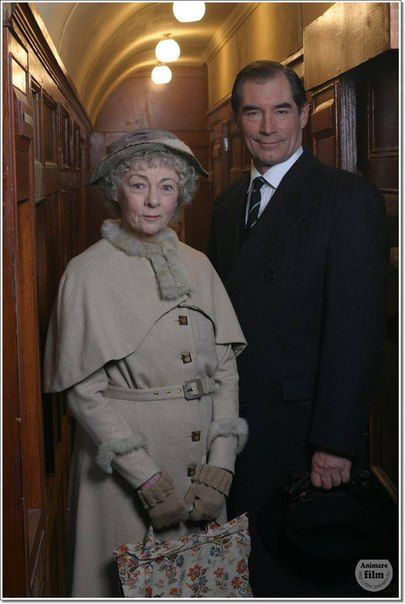 2006 ITV Agatha Christie's Marple - The Sittaford Mystery, Geraldine McEwan as Miss Marple and Tim as Clive Trevelyan.