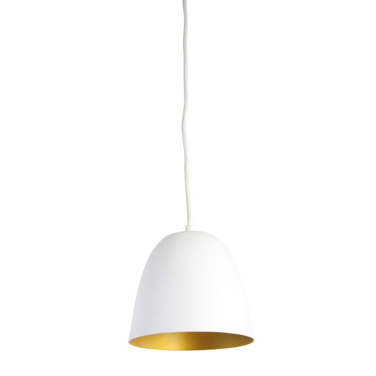 lamp  koperen binnenkant