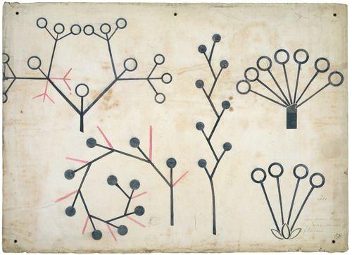 Christopher Dresser - Botanical lecture diagram [1855]