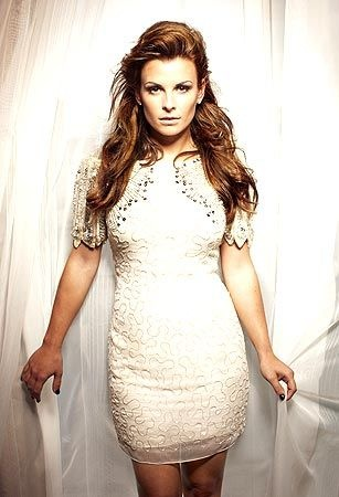 Coleen Rooney (Abby in LF) love her hair so much here!