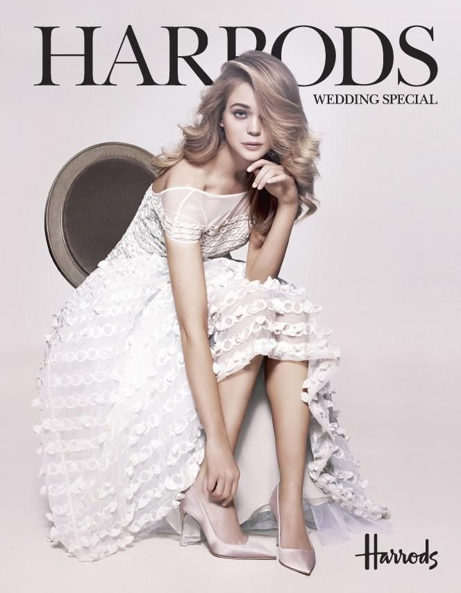 Harrods - Harrod's February 2014 Cover: Wedding Special Supplement
