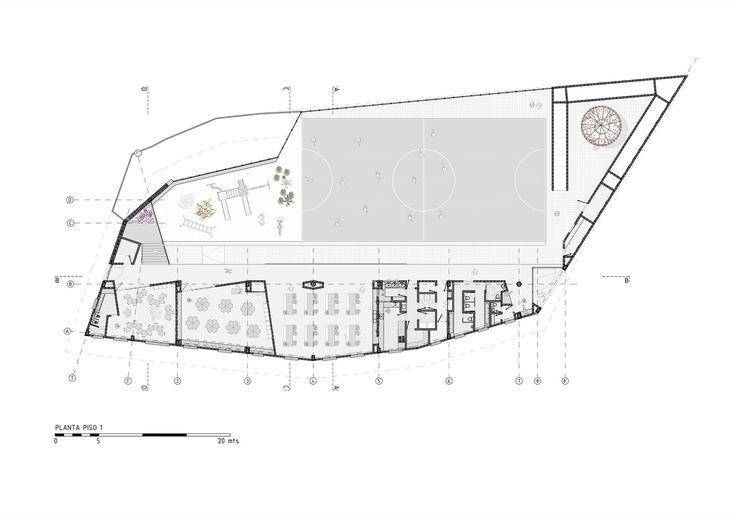 Gallery of Chaparral Rural School / Plan:b arquitectos - 24