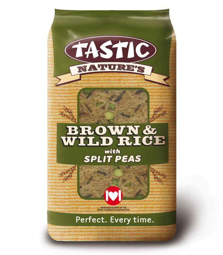 Tastic Brown and Wild Rice with Split Peas 1kg