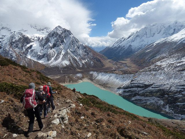 Birendra Lake In Manaslu Circuit Trail