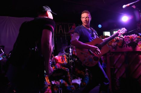 Coldplay Performs for SiriusXM in the Hamptons at The Stephen Talkhouse…