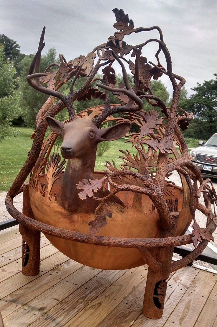 23 best things made out of old parts images on pinterest metal