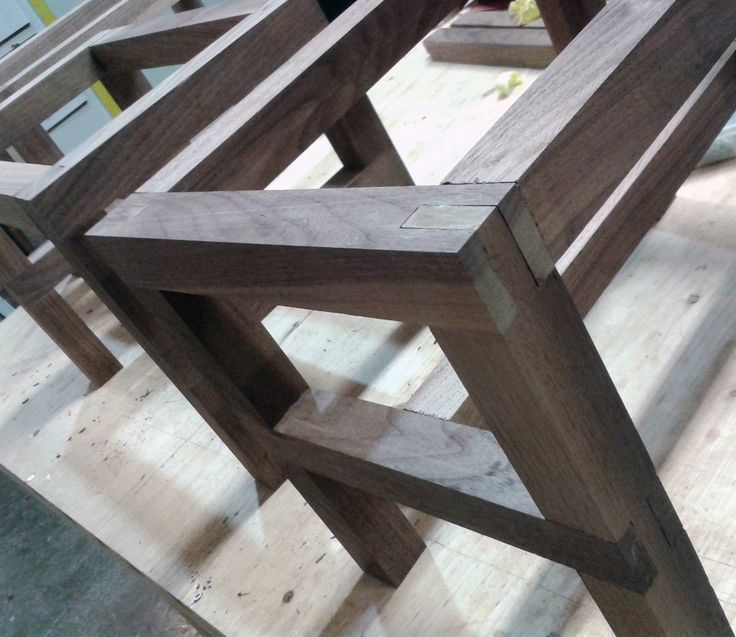Great wood joinery from a Toronto community shop. You can use the tools for your own projects or take classes.
