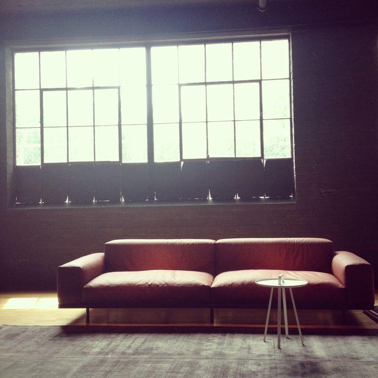 #Arflex Naviglio sofa in the Atlanta (context) gallery- follow our instagram, user name contextgallery
