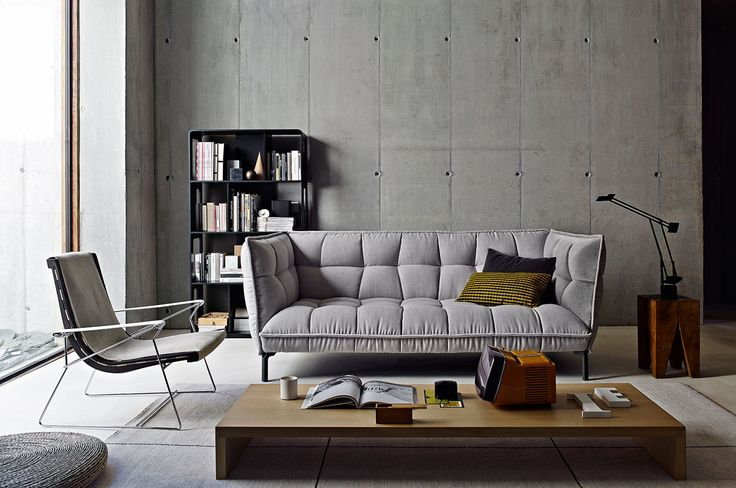 We love Design: Husk Sofa von B&B Italia | clic im stilwerk Hamburg