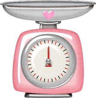 Retro Cocinera Utensilios de Cocina para Diseño Material Didáctico para Escuelas Scales