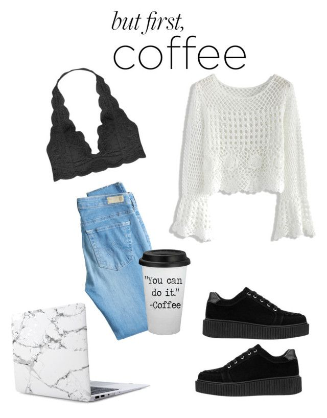 """""""Untitled #92"""" by temari23 ❤ liked on Polyvore featuring Humble Chic, Chicwish and AG Adriano Goldschmied"""