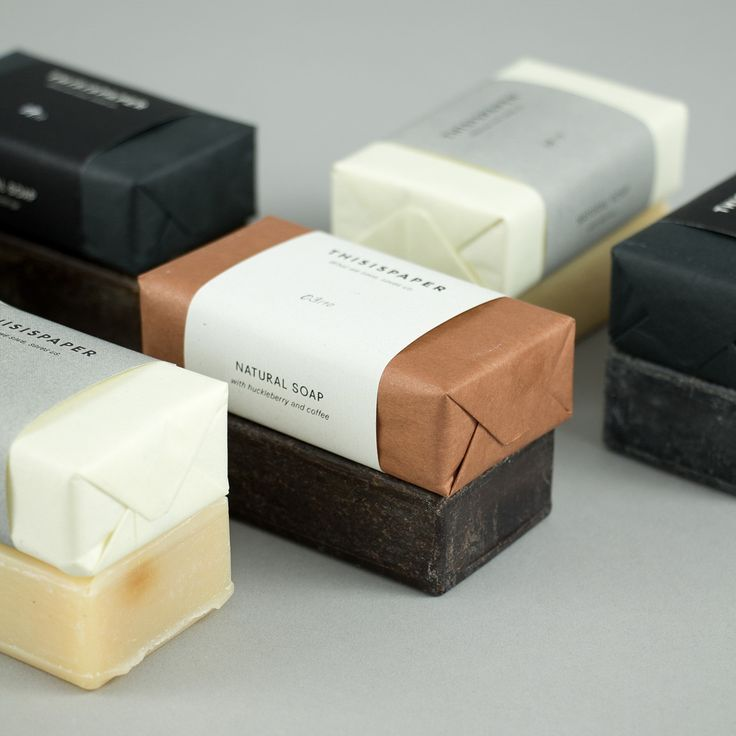 Natural Soap | packaging