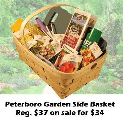 12 best Gardening Baskets by Peterboro Basket images on Pinterest