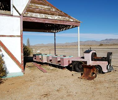 Abandoned Goodyear Trotting Park Arizona Ghost Towns Of