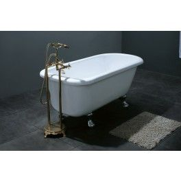 Beyond Freestanding Slipper Bath. This freestanding bath with a contemporary minimalistic design is ideal for a medium sized bathroom.  Description:  Dimension (MM): Bathtub1550 x 750 x 650
