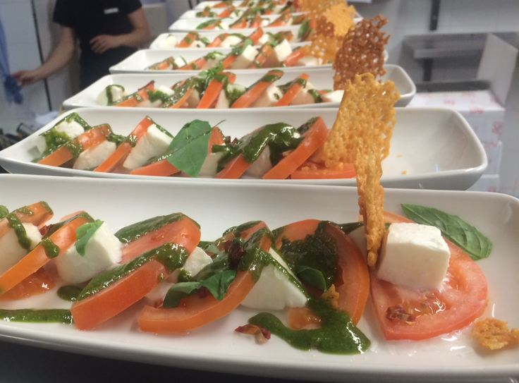 Caprese #Salad - is included in our #gourmet treats and dishes from our #Gala #Dinner.  http://www.thequeensgatehotel.com