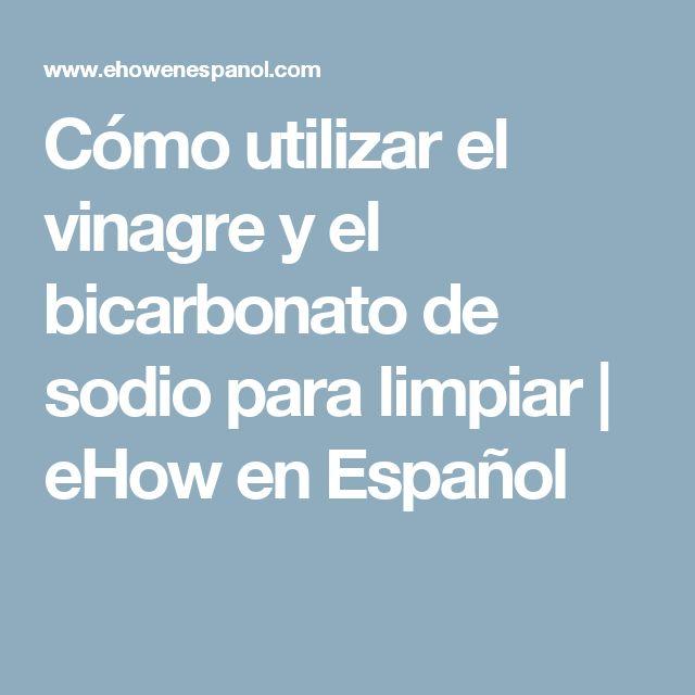 M s de 25 ideas incre bles sobre vinagre de bicarbonato de - Limpiar horno con vinagre y bicarbonato ...