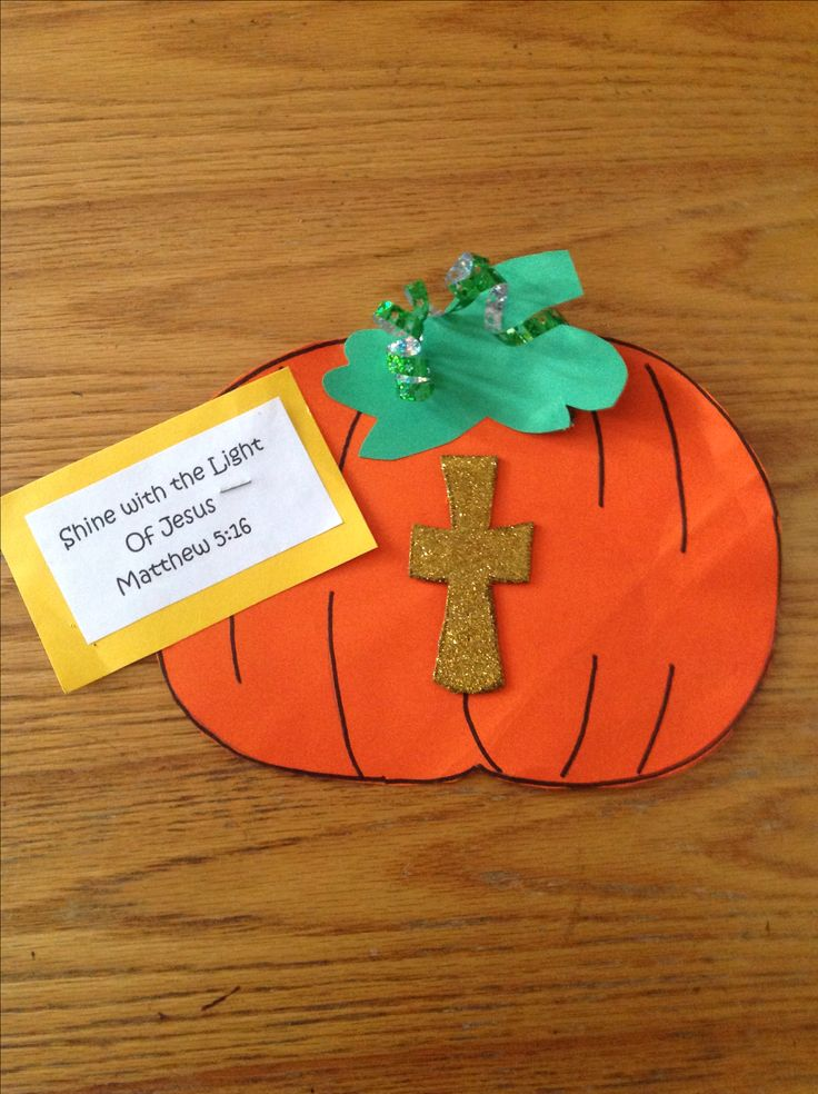 fall bible craft - Religious Halloween Crafts