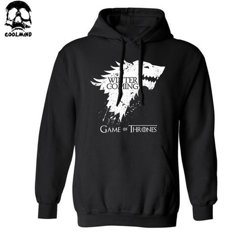 Game Of Thrones Winter Is Coming Pullover Hoodie - Worlds Colliding
