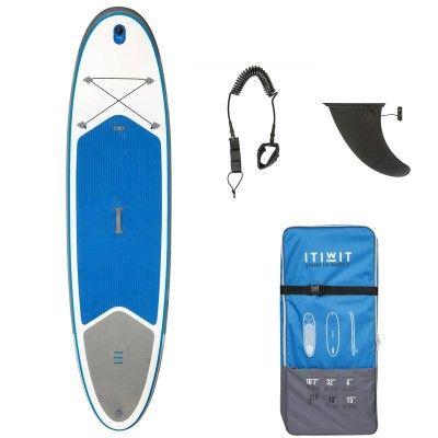 Kayak SUP Kayak, Stand Up Paddle - Opblaasb. supboard 10'7 blauw ITIWIT - Stand Up Paddle (SUP)
