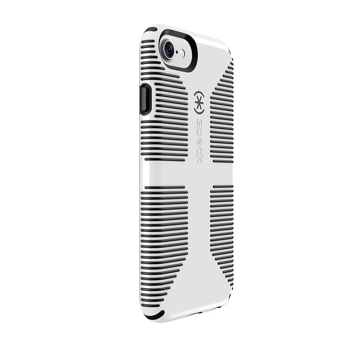 Description Rubber stripes provide a no-slip grip great for snapping pics, for iPhone 7 - Military-Grade drop Tested onto a hard, unrelenting surface with phone retaining full functionality - Patented