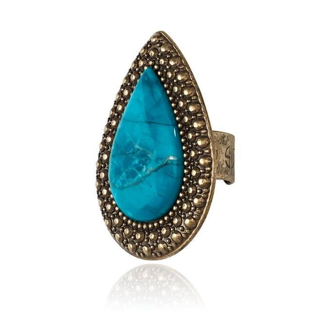 Samantha Wills Cobalt Bohemian Bardot Ring.... One of our faves!