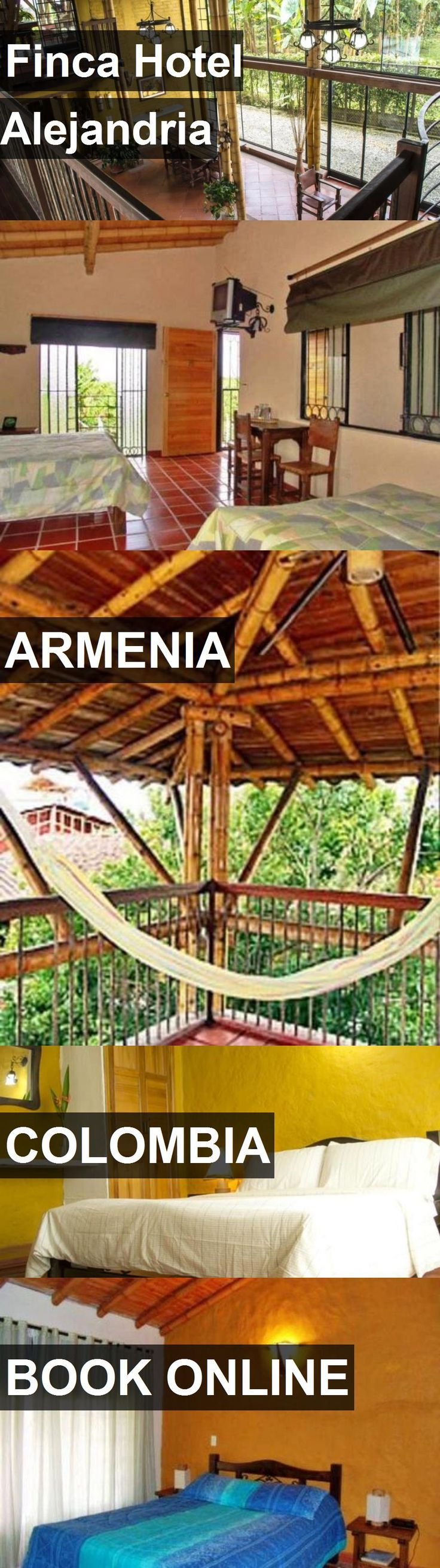 Finca Hotel Alejandria in Armenia, Colombia. For more information, photos, reviews and best prices please follow the link. #Colombia #Armenia #travel #vacation #hotel