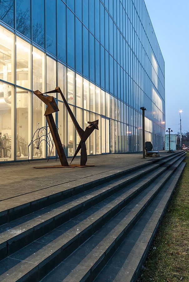 Centrum Sztuk Użytkowych i Innowacyjności ASP we Wrocławiu.   Wroclaw Academy of Fine Arts.