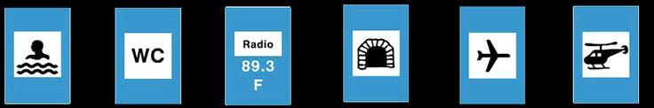 σηματα κοκ - Όλα τα σήματα του ΚΟΚ - πληροφοριακές πινακίδες 12