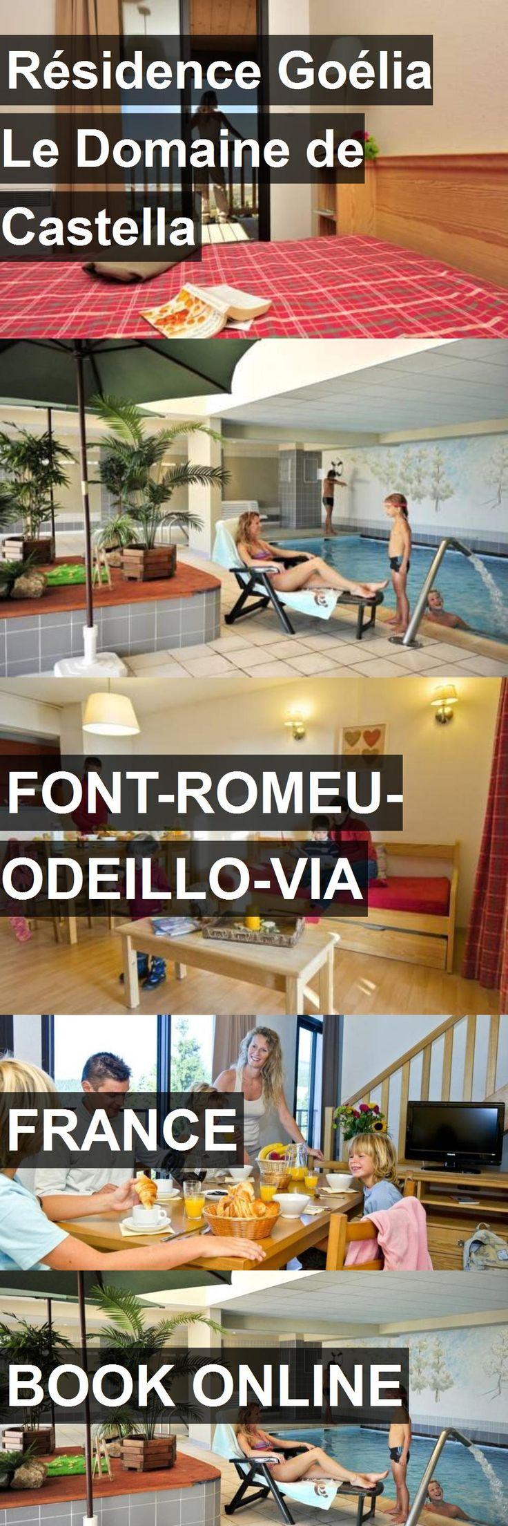 Hotel Résidence Goélia Le Domaine de Castella in Font-Romeu-Odeillo-Via, France. For more information, photos, reviews and best prices please follow the link. #France #Font-Romeu-Odeillo-Via #travel #vacation #hotel