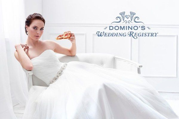 Domino's Created a Pizza Wedding Registry Because, Why Not?