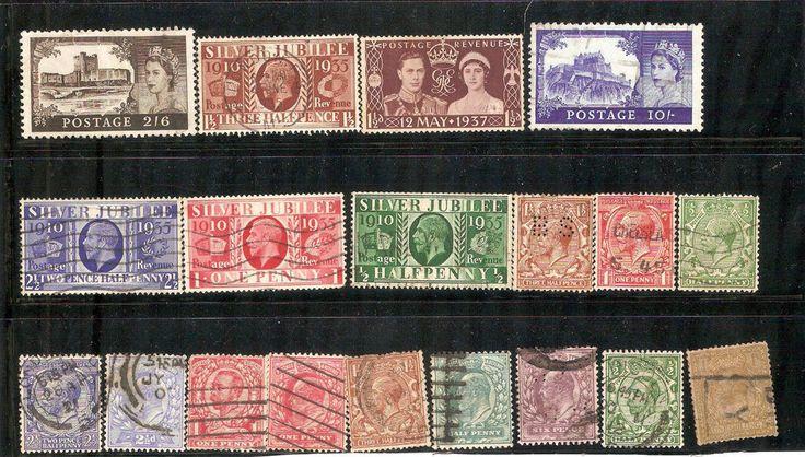 Stamps United Kingdom Series
