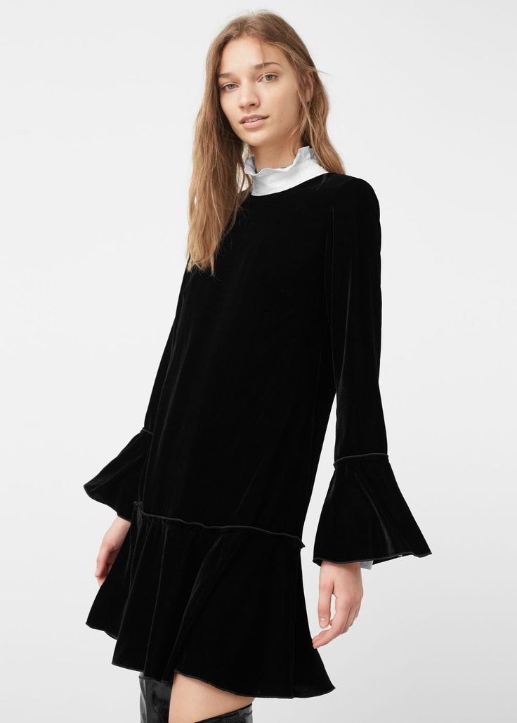 Velvet dress - Dresses for Women | MANGO USA