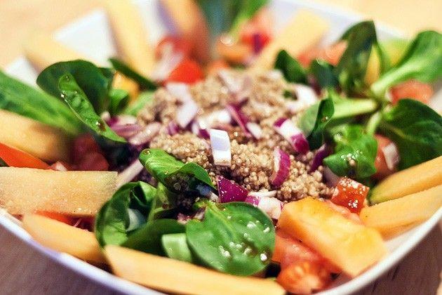 Quinoa & Melon Salad
