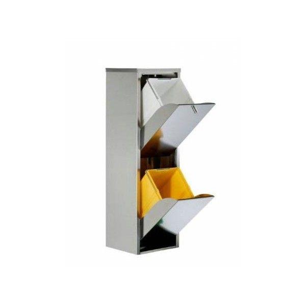 Poubelle Tri Selectif Ikea : poubelle de tri s lectif en acier inoxydable 2 ~ Pogadajmy.info Styles, Décorations et Voitures