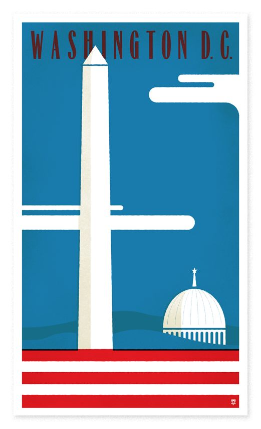 Vintage Travel Posters That Lured Tourists To Washington, D.C. - Curbed DCclockmenumore-arrow :