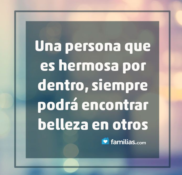 translation:a person who is beautiful inside, can always find beauty in others