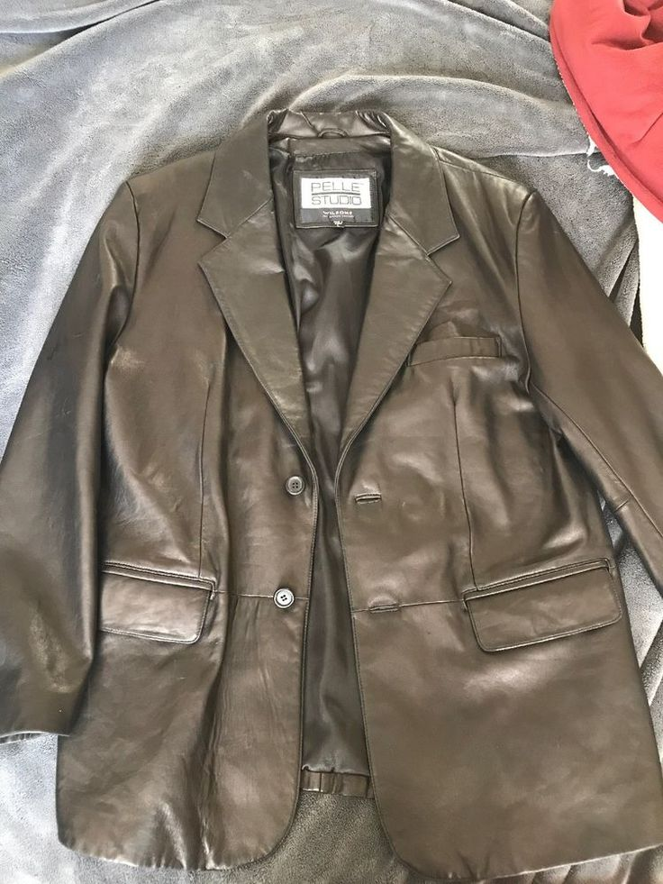 Pelle Studio Wilsons Large Leather Jacket Great Condition