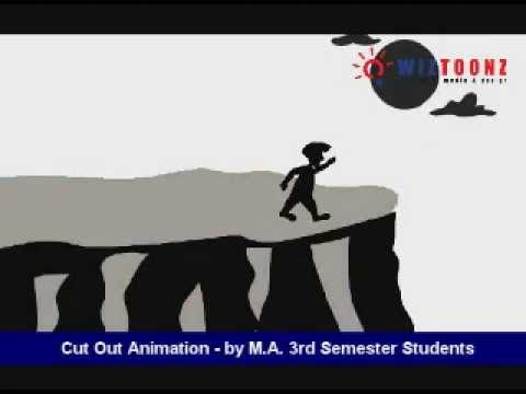 Cutout Animation - by M.A 3rd sem Students  #wiztoonz #Bangalore #Animation #Students
