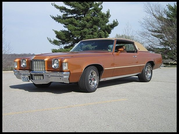1972 Pontiac Grand Prix | Mecum Auctions $16,000