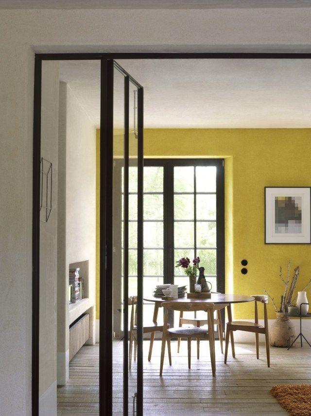 Les 25 meilleures id es de la cat gorie jaune peintures for Peinture murale jaune pastel
