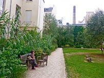 Rue des Francs Bourgeois, Paris, Francia  Rosiers-Joseph Migneret Garden - Google Maps