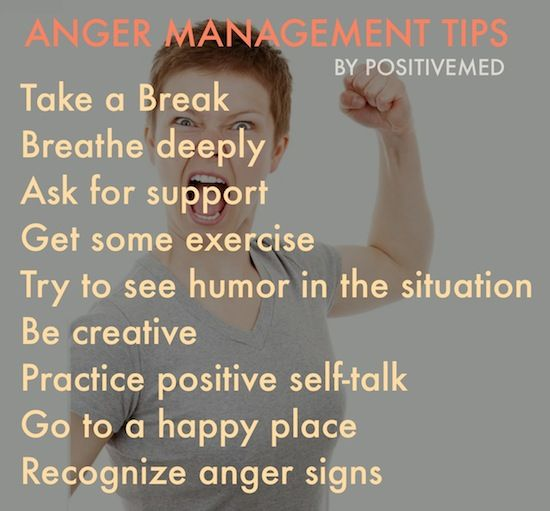 Anger Management, 10 Tips to Tame Your TemperPositiveMed | Positive Vibrations in Health