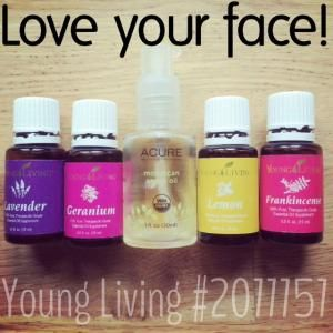 """The best skin-care you'll ever need. Argan oil has a comedogenic rating of """"0"""" which won't clog pores and cause break-outs. The these Young Living essential oils, along with carrot seed (SPF of 30-50) and ylang ylang essential oils are some of these best for the face, preventing aging, minimzing scars, and improving hydration and elasticity - all super important as we get older. Love your face and will love you back! by norma"""