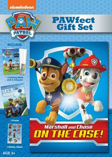PAW Patrol: Marshall and Chase on the Case! [PAWfect Gift Set] [DVD]