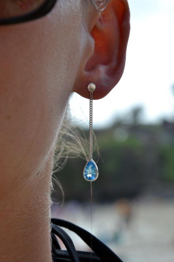 Pandawa Earrings Topaz Swiss Sterling Silver 925 by lililuh