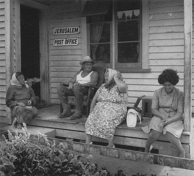 Jerusalem Post Office - Hiruharama - Whanganui River [1963] // hans westra