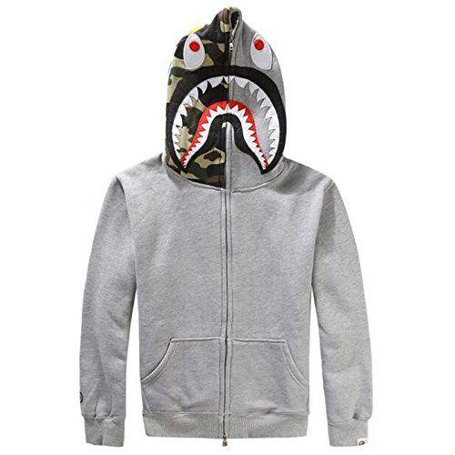 3D Print Hooded Sweatshirt Full -zip Pullover Long Sleeve Hoodie Plus Velvet Coat for Women and Men