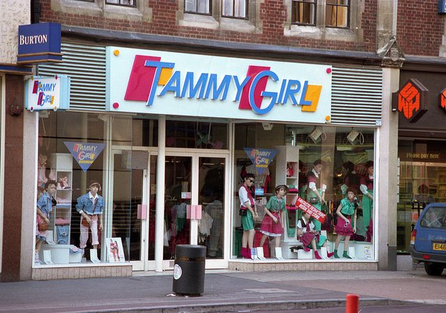 Tammy Girl. Used to get alot of my clothes from here.