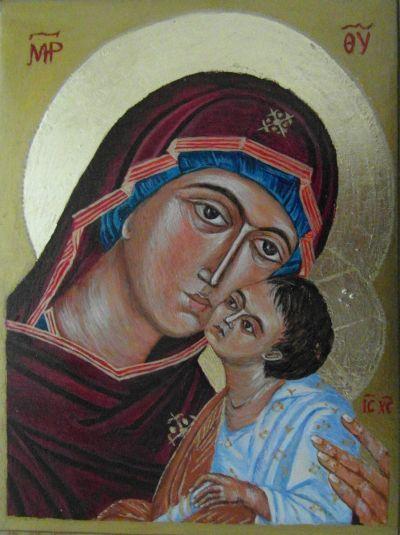 Matka Boska Eleusa.